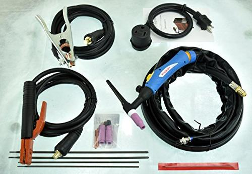 TIG-200DC, 200 Amp Torch Welder Welding Machine