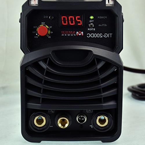 TIG-200 TIG Torch, Stick Dual Voltage Welding