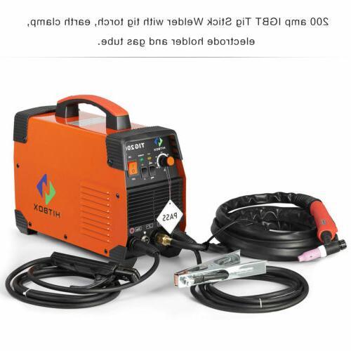 TIG Welder 200A inverter MMA Stick Welding Machine With Torch NEW
