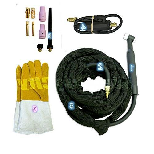 tig welding torch set wp