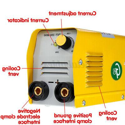 US 110V 200A Electric Welding Machine DC ARC MMA