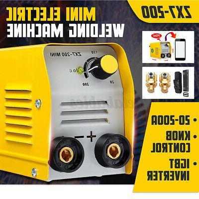 US Mini Electric Welding Machine DC Inverter MMA Stick Welder