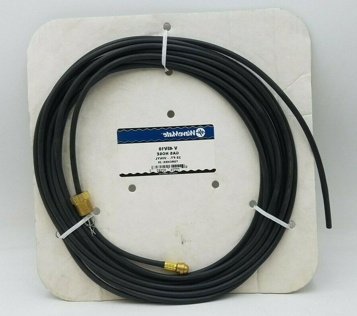 v 45v10 gas hose 25ft vinyl tube