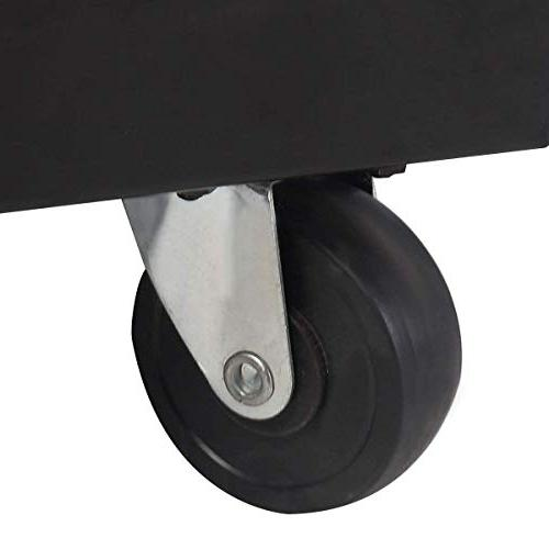 COSTWAY Welding Welder Cart MIG TIG ARC Plasma Cutter Tank Storage w/2 Safety Chains, Lb Portable ,