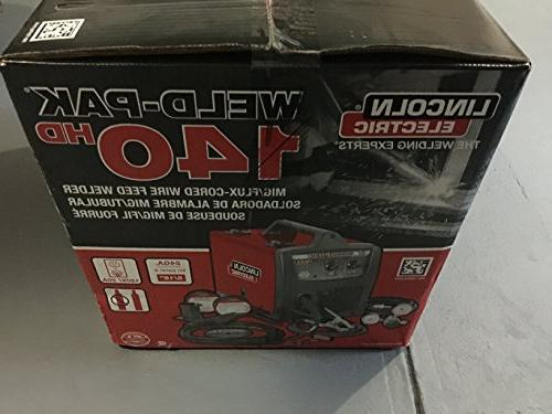 Lincoln Electric 140 Wire-Feed Welder K2514-1