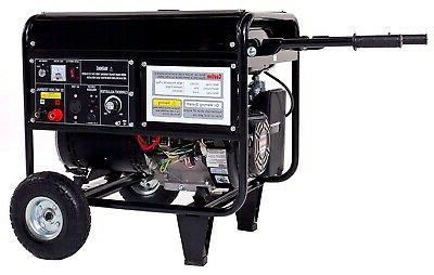 welder and generator combo gas 120v ac