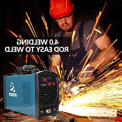 Ansen Welder Electric Welder 115V/230V Dual Tig&Stick Lift Portable Welding Machine