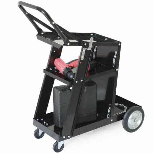Welder Welding Cart Cutter ARC Universal Storage New