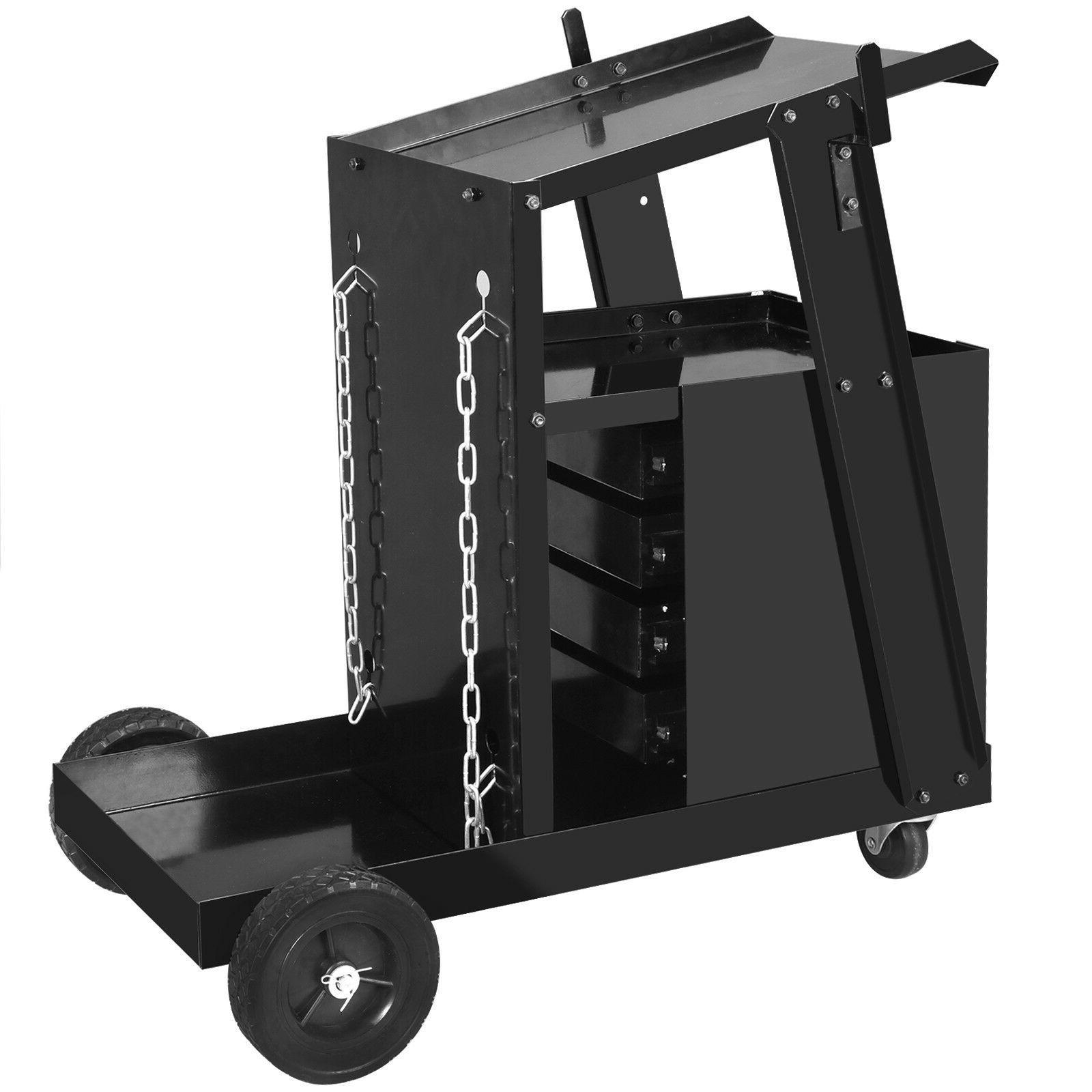Welding Cart MIG TIG Storage