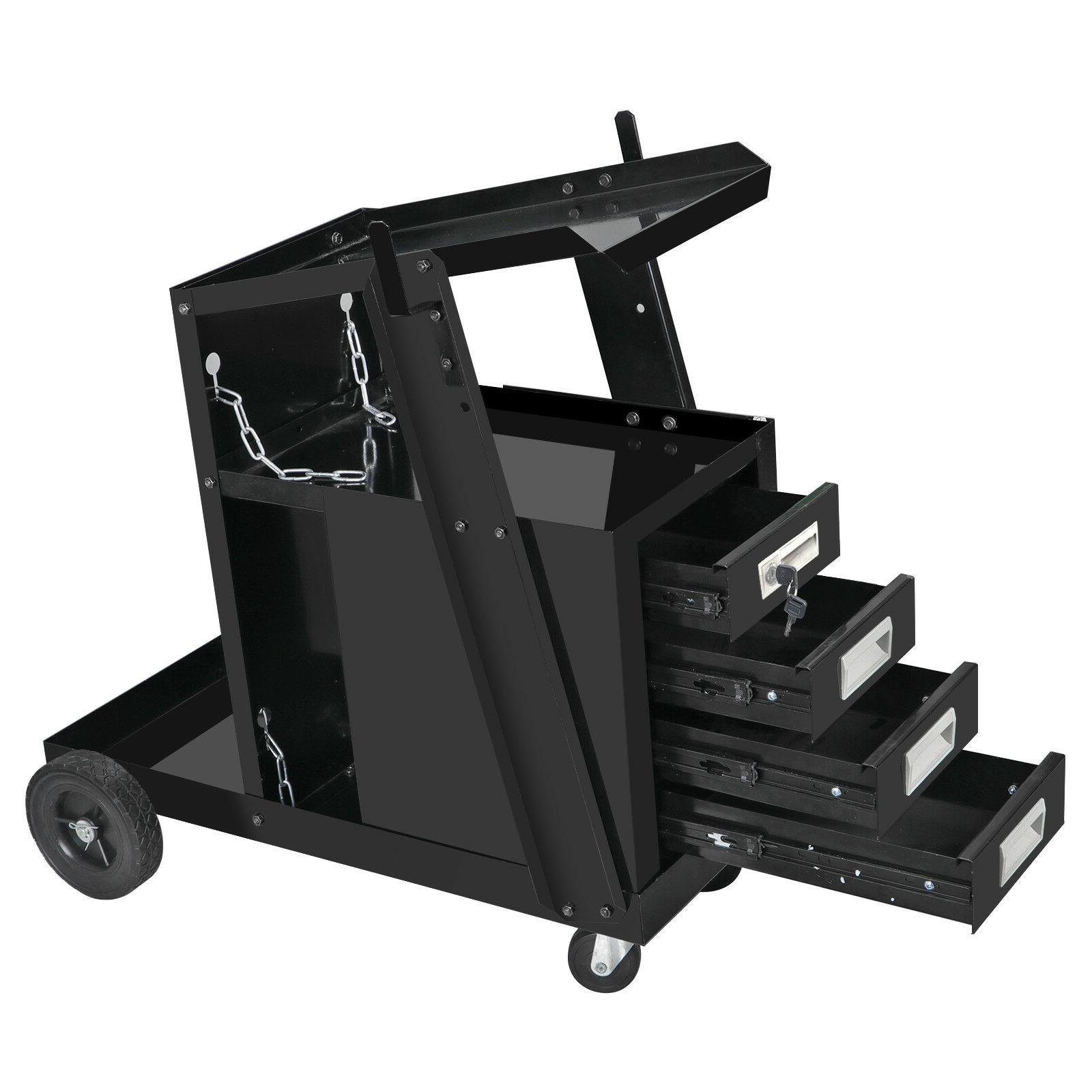 4 Welding Cart MIG Storage