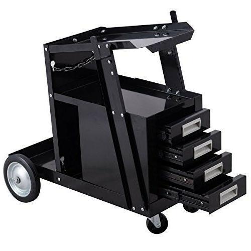welding welder cart trolley heavy duty workshop