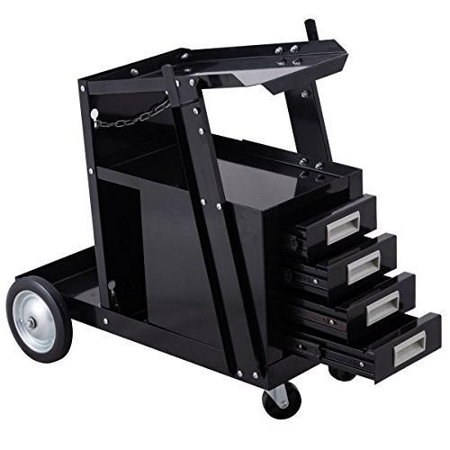 welding welder cart trolley heavy
