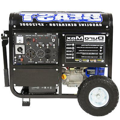 DuroMax XP12000E Portable Gas Generator -