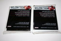"Lot of 2-Best Welds Glass Welders Filter Lens, 4-1/2"" x 5-1/"