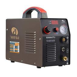 Lotos LT5000D Plasma Cutter 50Amps Dual Voltage Compact Meta