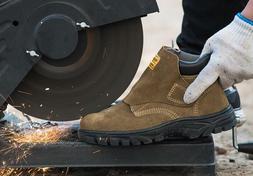Mens Welder Steel Toe Cap Work Safety Shoes Walking Hiking W