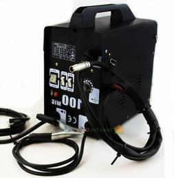 Mig-100 Flux Core Welding Machine No Gas Welder + Face Mask