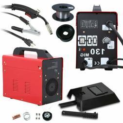 MIG 130 Amp MIG-110v Welder Flux Core Electric Welding Machi