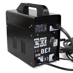 MIG-130 Flux Core Wire Welder Welding Machine w/ Cooling Fan
