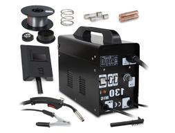MIG 130 Welder Gas Less Flux Core Wire Automatic Feed Weldin