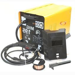 MIG 195 Amp MAG 220v Welder Flux Stainless Aluminum Welding