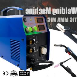 TIG/MIG/MMA Multifunction Welder Welding Machine Metal Work