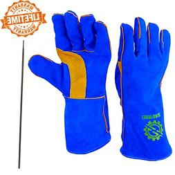 "Everforge 14"" MIG and TIG Welding Gloves For Welders - Free"
