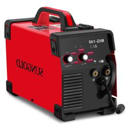 mig welder 140a gas and gasless welding
