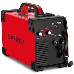 MIG Welder 140A Gas Gasless Welding 110/220V Dual Voltage IG