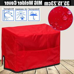 MIG Welder Cover Waterproof Red for MIG Welder Power Mig 35*