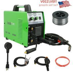 MIG Welder MIG150 Gas/No Gas DC 220V 2 in 1 Flux Core Stick