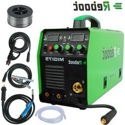 MIG Welder MIG175 Gas/Gasless DC 220V Welding Machine MMA MI