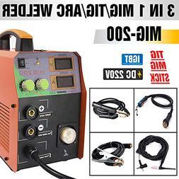 TOSENBA MIG Welder MIG/TIG/ARC Welder 3 in 1 Welding Machine