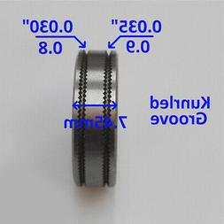Mig Welder Wire Feed Drive Roller Roll Parts 0.8-0.9 Kunrled