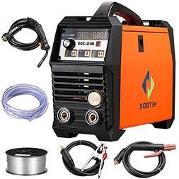 MIG Welding Machine Inverter IGBT Mig welder 200Amp 220V DC