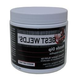 Best Welds Mig Welding Nozzle Gel Tip Dip 16oz Welder 1 LB