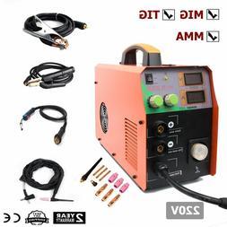 MIG200 200A TIG MMA  MIG Welding Machine 220V DC Flux Core W
