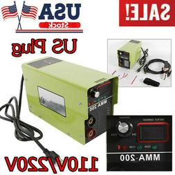 MMA-200 120A ARC Inverter Welding Machine Welder DC IGBT Ele
