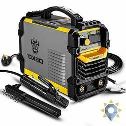 Mma Electric Welder Machine 110v 220v Work Clamp Power Adapt