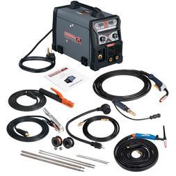 MTS-165, 165 Amp MIG, Flux Cored, TIG, Stick Arc DC Welder,