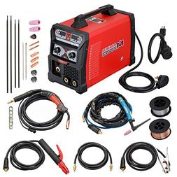 MTS-165, 165 Amp MIG TIG-Torch Stick Arc Combo Welder, Weld