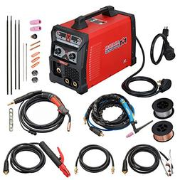 MTS-185, 185 Amp MIG Wire Feed/Flux Core/TIG Torch/Stick Arc