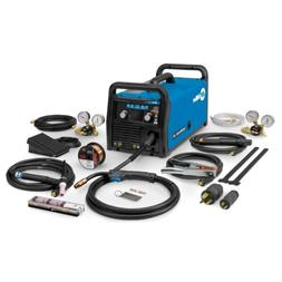Miller Multimatic 215 Auto-Set Multiprocess Welder with TIG
