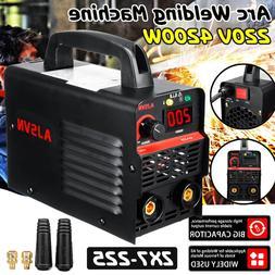 New 220V Adjustable 20A-225A 4200W Handheld IGBT Inverter <f
