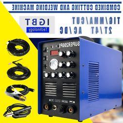 NEW 7 in 1 Plasma Cutter IGBT 200A AC/DC PULSE TIG/MMA ALUMI