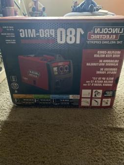 NEW Lincoln Electric PRO-MIG 180 Welder 230v