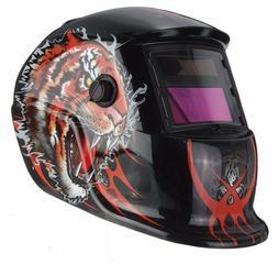 New Pro Solar Welder Mask Auto-Darkening Welding Helmet Grin