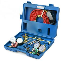 New VICTOR Type Gas Welding & Cutting Kit Oxygen Torch Acety