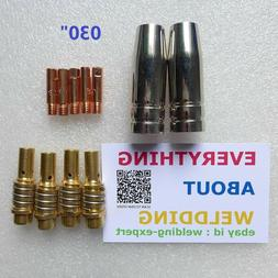Nozzle Contact Tip 0.030 Gas Diffuser Chicago Electric Harbo