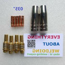 Nozzle Contact Tip 0.035 Gas Diffuser Chicago Electric Harbo